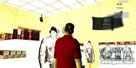 Dos relacionados con Interior cambiar para GTA San Andreas sucesivamente de pantalla
