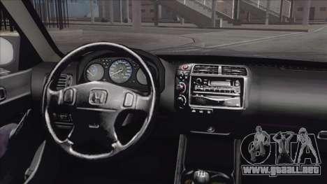 Honda Civic Tuning para la visión correcta GTA San Andreas