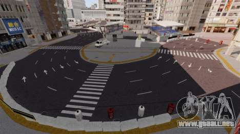 Ubicación de Shibuya para GTA 4 séptima pantalla
