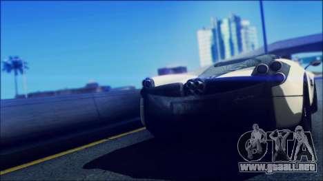 Sonic Unbelievable Shader v7 para GTA San Andreas segunda pantalla
