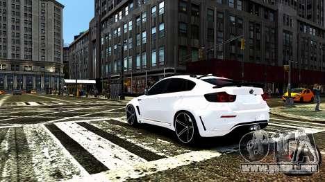 BMW X6 M Hamann 2013 Vossen para GTA motor 4