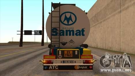 Tanque SMAT para GTA San Andreas left