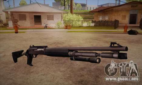 La escopeta del Left 4 Dead 2 para GTA San Andreas