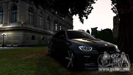 BMW X6 M Hamann 2013 Vossen para GTA 4 left