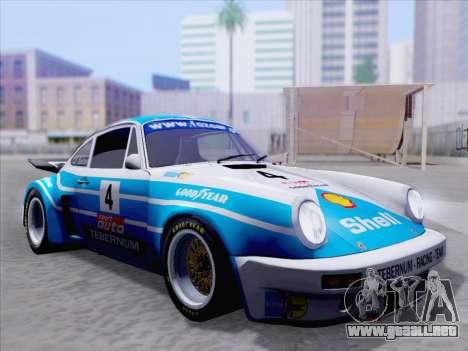 Porsche 911 RSR 3.3 skinpack 1 para GTA San Andreas interior