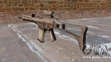 Rifle de asalto HK G36 para GTA 4 segundos de pantalla