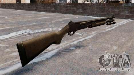 Escopeta Remington 870 Wingmaster para GTA 4 segundos de pantalla