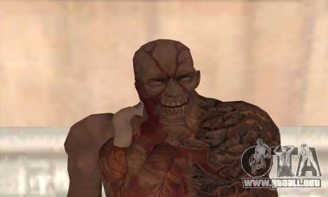 Tyrant T002 para GTA San Andreas tercera pantalla