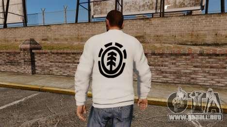 Suéter-elemento - para GTA 4 segundos de pantalla