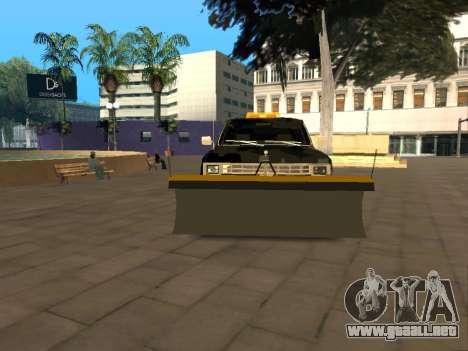 Chevrolet Blazer para GTA San Andreas vista hacia atrás