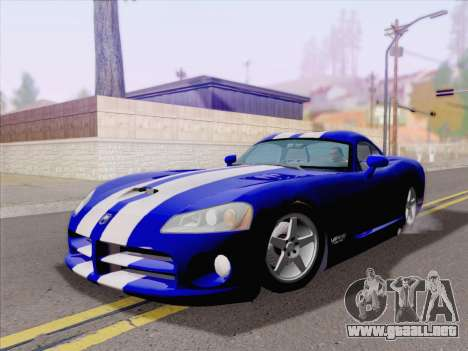 Dodge Viper SRT-10 Coupe para GTA San Andreas left