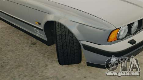 BMW M5 E34 para GTA 4 vista lateral