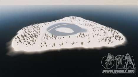 Ubicación del país de las maravillas del Ártico para GTA 4