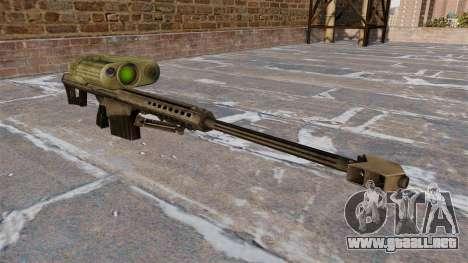 Rifle de francotirador Barrett M82A3 para GTA 4