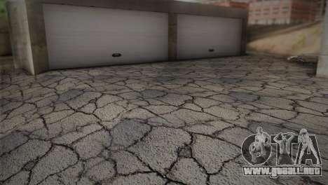Garaje en Dorothy para GTA San Andreas sucesivamente de pantalla