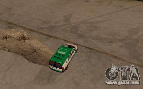 Mercedes-Benz Vito Ambulancia ACHS 2012 para la visión correcta GTA San Andreas