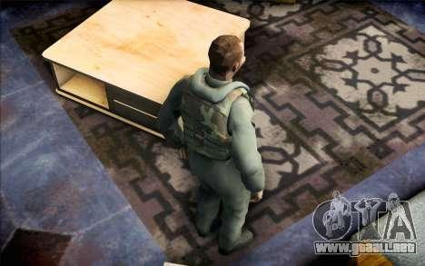Nicolás de Call of Duty MW2 para GTA San Andreas tercera pantalla