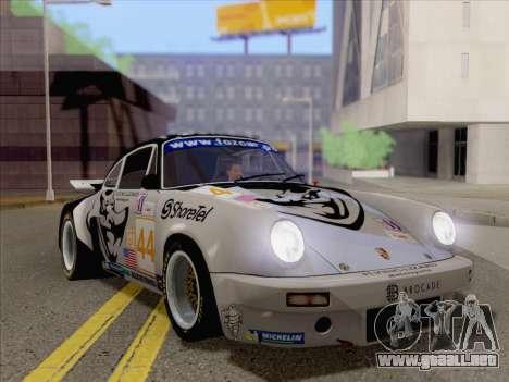 Porsche 911 RSR 3.3 skinpack 2 para GTA San Andreas left