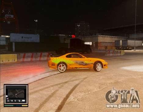 Map V Style para GTA 4 segundos de pantalla