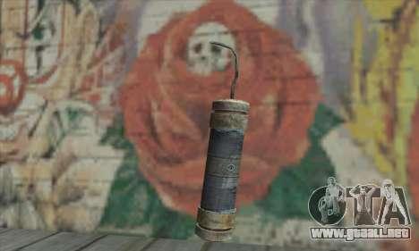 Un cartucho de dinamita desde el Metro 2033 para GTA San Andreas segunda pantalla