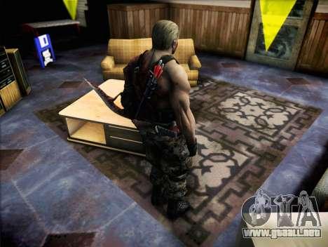 Jack Krauser para GTA San Andreas tercera pantalla