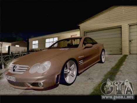 Mercedes SL500 v2 para visión interna GTA San Andreas
