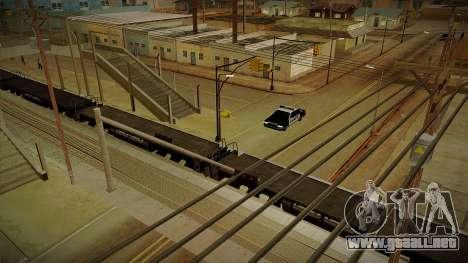 GTA HD Mod 3.0 para GTA San Andreas quinta pantalla