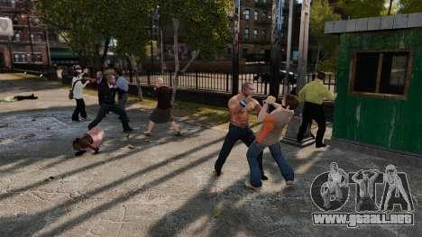 La eliminación de las armas para GTA 4 segundos de pantalla