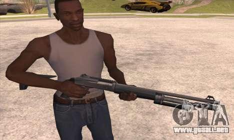 La escopeta del Left 4 Dead 2 para GTA San Andreas tercera pantalla