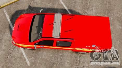 Toyota Hilux FDNY [ELS] para GTA 4 visión correcta