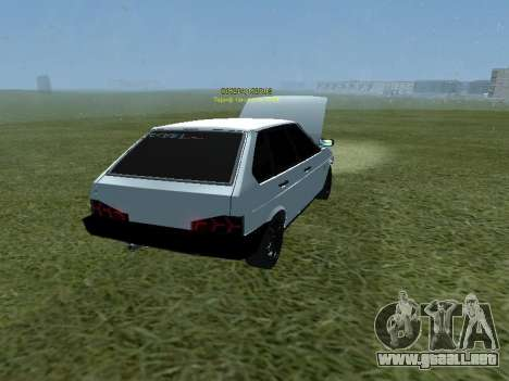 VAZ 2109 Opera Turbo para GTA San Andreas left