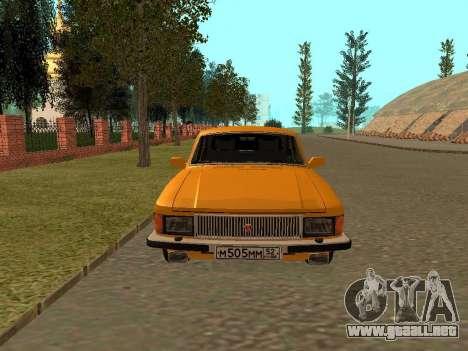 Volga GAZ 3102 para la visión correcta GTA San Andreas