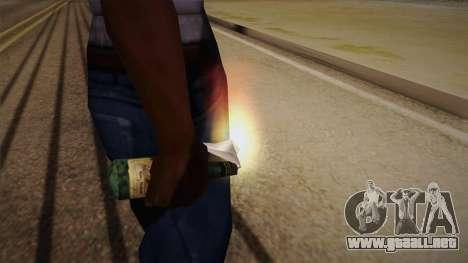Cóctel Molotov de Max Payne para GTA San Andreas tercera pantalla