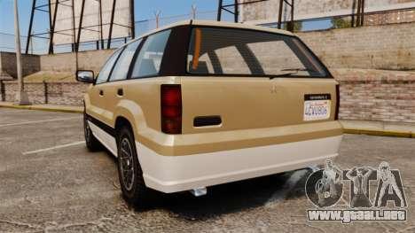 GTA V Canis Seminole para GTA 4 Vista posterior izquierda