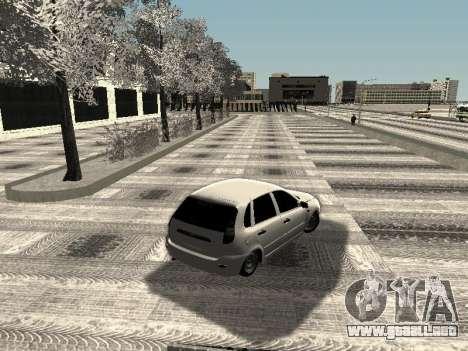 Vaz 2190-1119 para la visión correcta GTA San Andreas