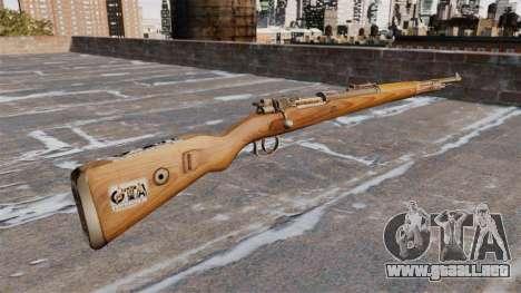 Rifle Kar98k para GTA 4 segundos de pantalla