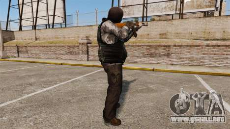 El equipo terrorista para GTA 4 segundos de pantalla