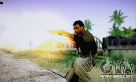 Lamar Davis GTA V para GTA San Andreas sucesivamente de pantalla