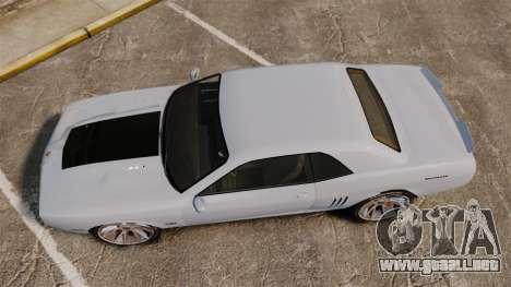 GTA V Declasse Gauntlet ZL1 2014 Facelift para GTA 4 visión correcta