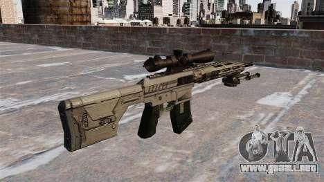Rifle de francotirador Remington R11 RSASS para GTA 4 segundos de pantalla