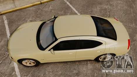 Dodge Charger RT Hemi 2007 para GTA 4 visión correcta