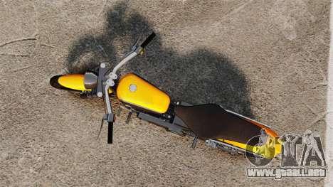 GTA IV TLAD Wolfsbane para GTA 4 Vista posterior izquierda
