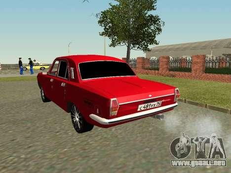 Volga GAZ 24-10 para GTA San Andreas vista posterior izquierda