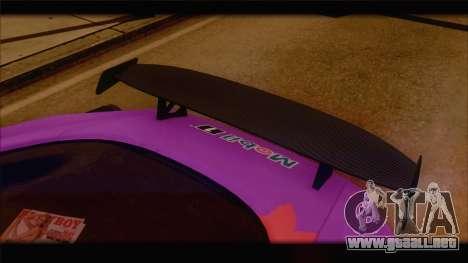 Aston Martin V12 Zagato 2012 [HQLM] para GTA San Andreas interior