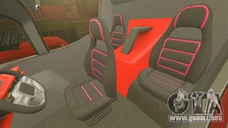Pro Track SR2 Firetruck [ELS] para GTA 4 vista interior