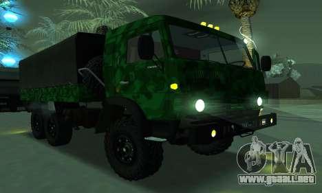 Ejército KAMAZ 4310 para GTA San Andreas