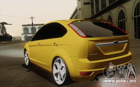 Ford Focus 2009 para GTA San Andreas left