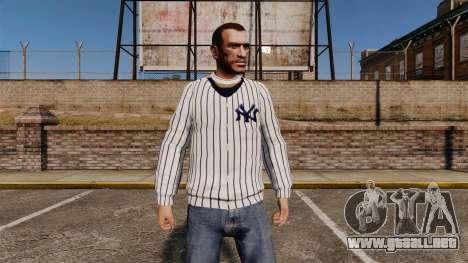 Jersey-New York Yankees - para GTA 4