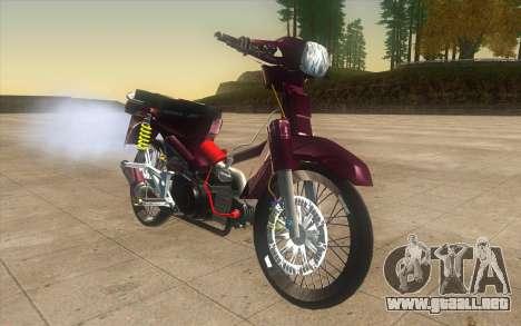 Honda Dream 100 VietNam para la visión correcta GTA San Andreas