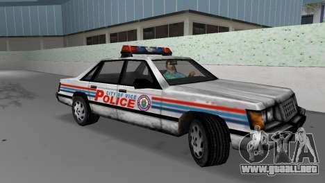 BETA Police Car para GTA Vice City